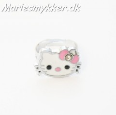 Kitty fingerring