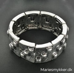 Chunky silverplated - armbånd
